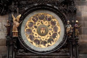 Orloj Zodiac Detail