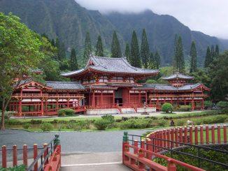 Byodo-in Temple in Hawaii