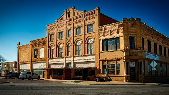 Anson Opera House built in 1907