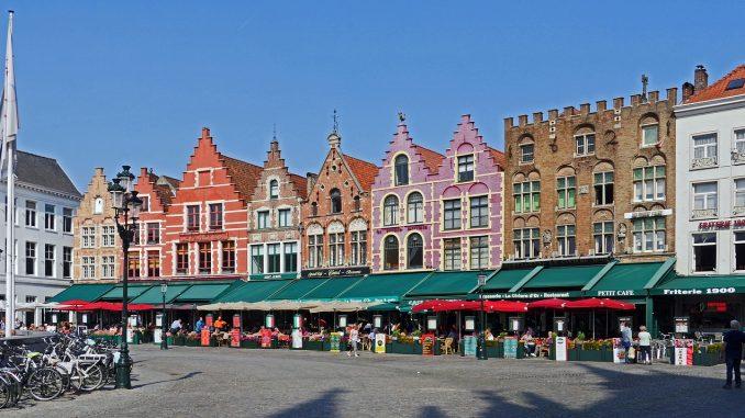 The Markt in Bruges, Belgium