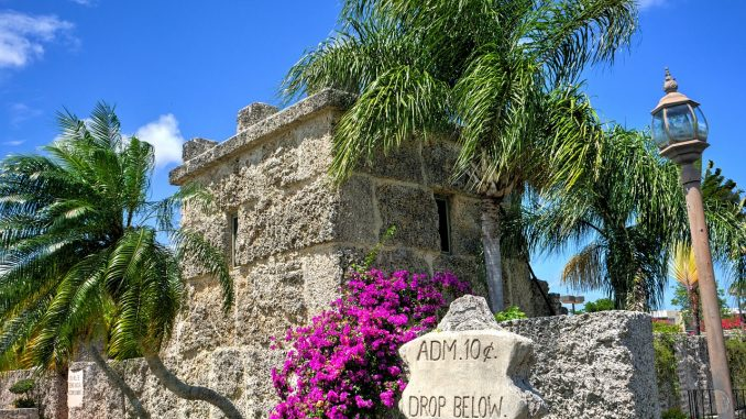 Entrance to the Coral Castle