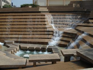Fort Worth, Texas Water Gardens