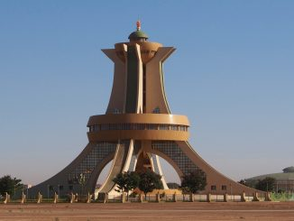 Monuments des Matyrs in Burkina Faso