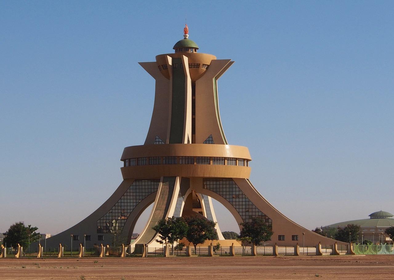 Monuments des Martyrs (Ouagadougou Burkina Faso) - Buyoya