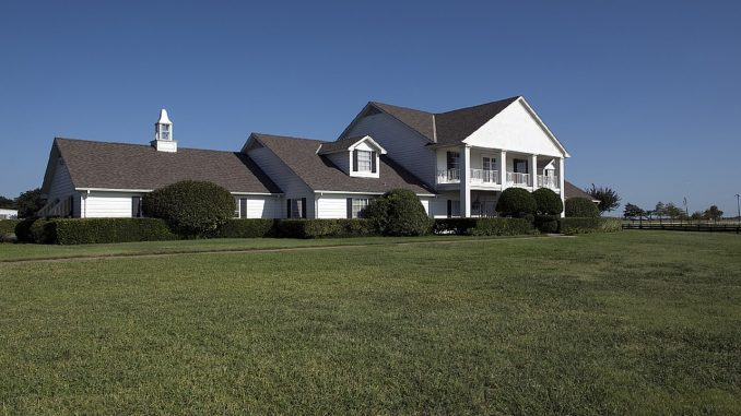 Southfork Ranch perched on the roaming 200 acre estate