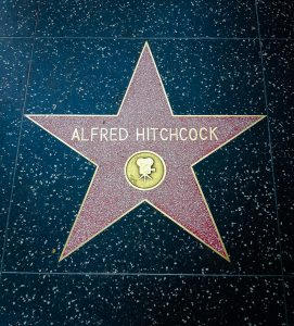 One of Alfred Hitchcock's stars