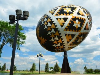 The World's largest Pysanka egg