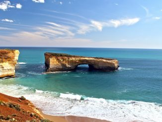 The London Arch of Victoria, Australia