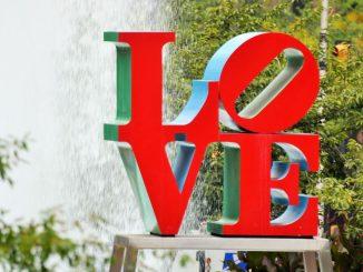 LOVE at Love park