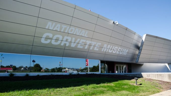 The National Corvette Museum in Bowling Green, Kentucky