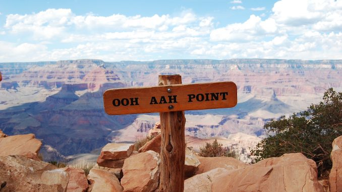 Ooh Aah Point at the Grand Canyon