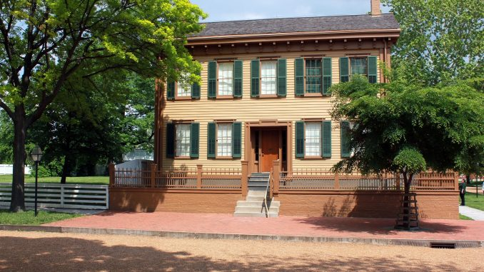 Abraham and Mary Todd Lincoln's Springfield home