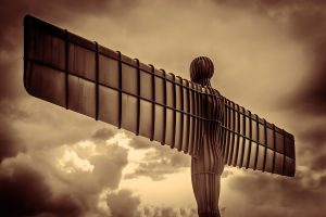 Back of the Angel of the North