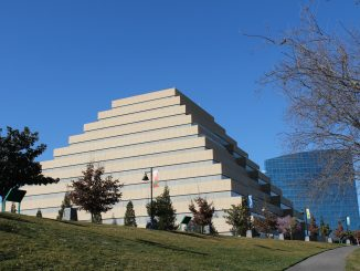 The Ziggurat Building in Sacramento, California