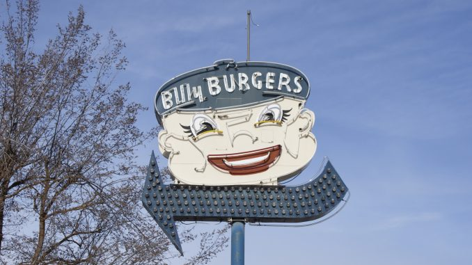 Billy Burger Neon