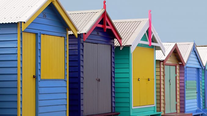 Brighton Bathing Boxes