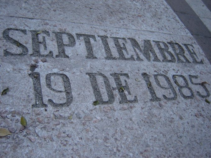1985 Earthquake Memorial