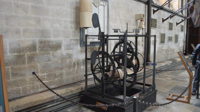 Salisbury Cathedral Mechanical Clock