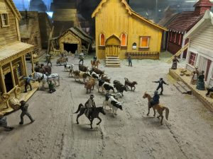 Miniature World Diorama