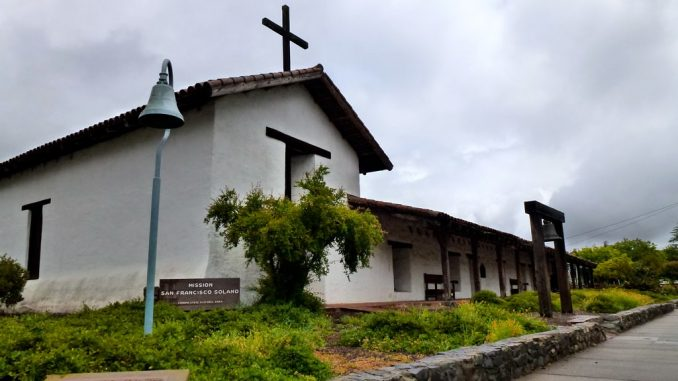 Mission San Francisco Solano, Sonoma, CA