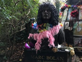 Marc Bolan Monument