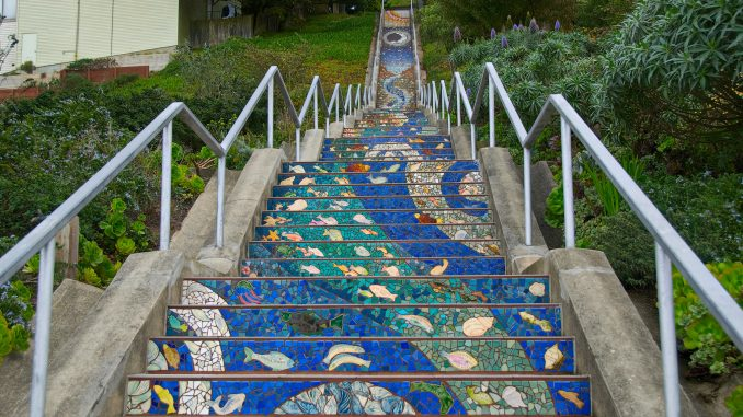 The 16th Avenue Tiled Steps