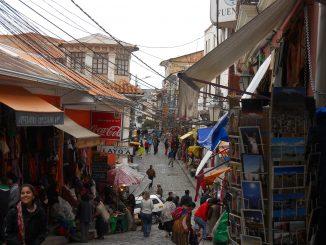 The La Paz, Bolivia Witches Market