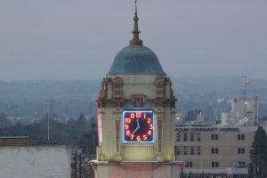 The Fox Theater Clock