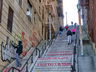 The Joker Stairs in New York