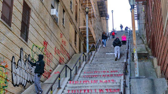 The Joker Stairs in New York