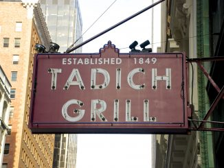 Tadich Grill Sign