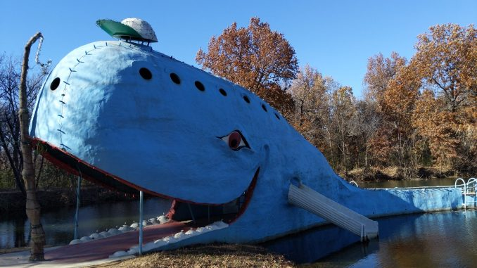 The Blue Whale of Catoosa Oklahoma