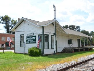Plains Train Depot