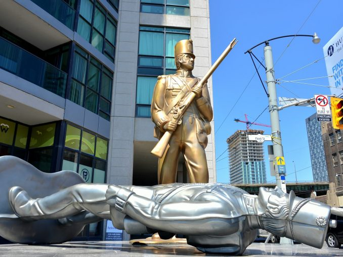 Toy Soldiers in Toronto