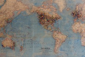 World Map of Visitors to The Gopher Hole Museum